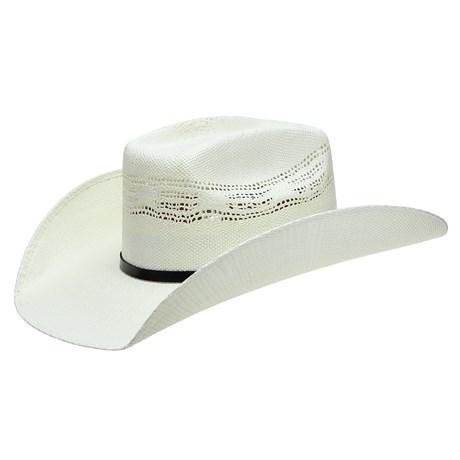 Chapéu de Palha Texas Diamond Copa Quadrada 25017