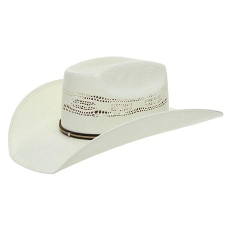Chapéu de Palha Texas Diamond Copa Quadrada 26385