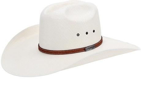 Chapéu de Peão Aba Larga Texas Diamond Branco 21069