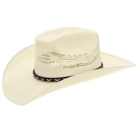 b8837346a9ba9 Chapéu de Peão Bangora Texas Diamond Copa Quadrada 20818 - Rodeo West