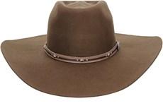 Chapéu de Peão Marrom Aba Larga Texas Diamond 21020