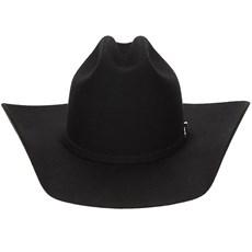 Chapéu de Cowboy Eldorado Company em Feltro Nashiville Preto - 18600 ... 9d11ba3f9de