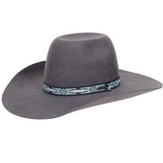 Chapéu em Feltro Cinza Texas Diamond 20781