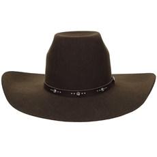 Chapéu Marrom Copa Alta Texas Diamond 20835