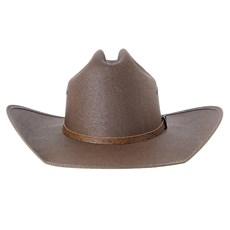 Chapéu Marrom Country com Bandinha Caramelo Texas Diamond 28486