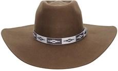 Chapéu Marrom de Cowboy Com Fita Navajo Texas Diamond 21017