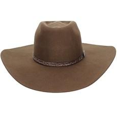Chapéu Marrom Texas Diamond Copa Alta Bandinha Arame 21013