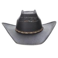Chapéu Preto Copa Quadrada Texas Diamond 23631