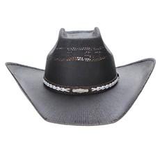 Chapéu Preto Copa Quadrada Texas Diamond 23632