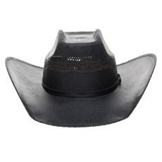 Chapéu Preto Copa Quadrada Texas Diamond 25035