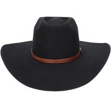 Chapéu Preto de Cowboy Copa Alta Texas Diamond 20992