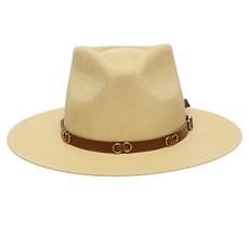 Chapéu Social Amarelo Com Argolas Texas Diamond 25513
