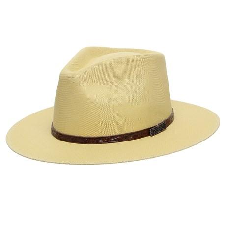 Chapéu Social Amarelo com Banda Marrom Texas Diamond 25511