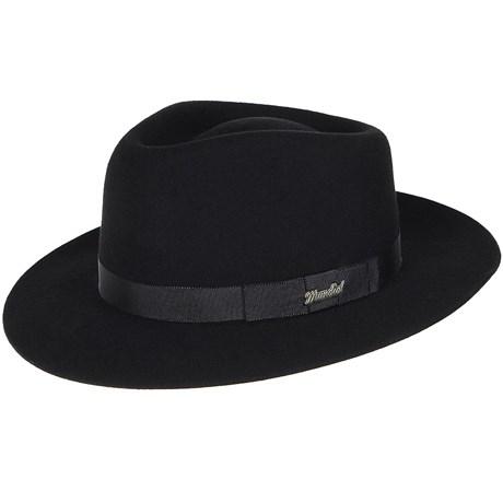 Chapéu Social Clássico Preto de Feltro - Mundial 19028 - Rodeo West b476c0fad6d