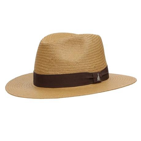 Chapéu Social de Palha com Boton Nossa Senhora Aparecida Marcatto 29052