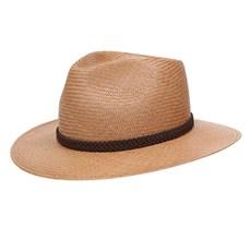 Chapéu Social de Palha Panamá Marrom Stetson 29857