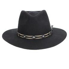 Chapéu Social Indiana Preto Texas Diamond 23022