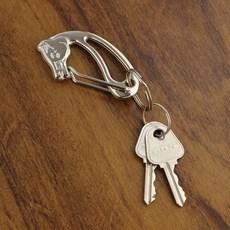 Chaveiro Cabeça de Cavalo Prata Rodeo West 23557