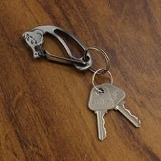 Chaveiro Cabeça de Cavalo Preto Rodeo West 23556