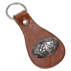 Chaveiro em Couro Cabeça Cavalo Rodeo West 23571