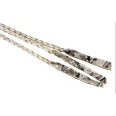 Chicote 3 Tranças Fabricado em Couro Crú - Bronc-Steel 18403