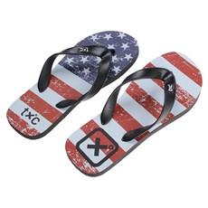 Chinelo Preto Bandeira EUA TXC 26115