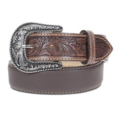 Cinto Country Couro Marrom Paul Western 23730