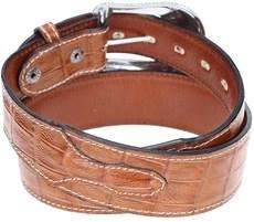 Cinto em Couro Réplica Jacaré Arizona Belts 20174