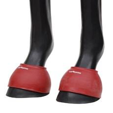 Cloche de Borracha Vermelha para Cavalo Top Equine 27265
