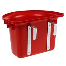 Cocho de Plástico Vermelho para Cavalo Instep 24105