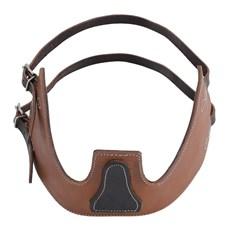 Colar Anti-Aerofagia em Couro Marrom Boots Horse 28546