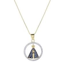 Colar Nossa Senhora Aparecida com Arco Espora Country 23910