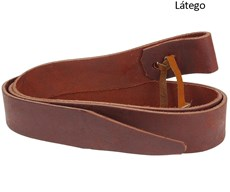 Conjunto Látego e Contra Látego para Arreio Fabricado em Couro - A Pantaneira 16361