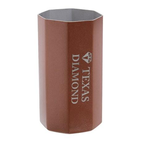 Copo para Tereré Aço Inox Rose Octo Texas Diamond 29540