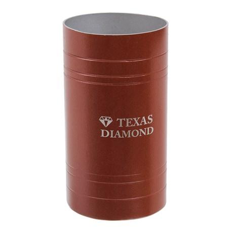 Copo para Tereré Aço Inox Vermelho Texas Diamond 29534