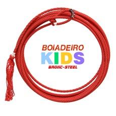 Corda para Laço Infantil Vermelho Bronc-Steel 28470
