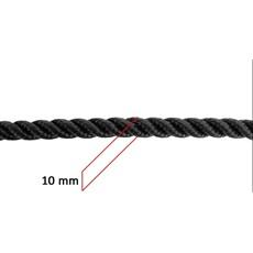 Corda Torcida para Laço 3 Tentos 10mm 100% Polipropileno - Rodeo West 17642
