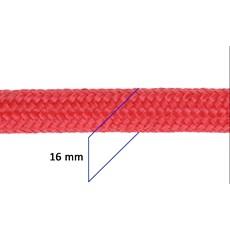 Corda Trançada 100% Polipropileno 16mm Vermelha - Rodeo West 17651