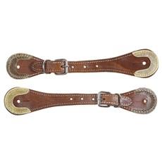 Correia de Espora com Fivela de Metal e Detalhe em Inervo Pro Horse 28255