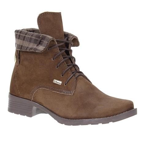 79e78ff53 Coturno Feminino Cadarço Urbana Boots Marrom 21536 - Rodeo West