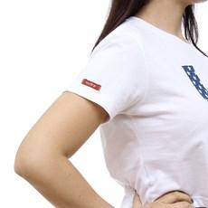 Cropped Feminino Branco USA TXC 30179