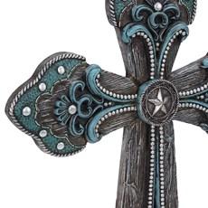 Cruz Decorativa de Parade Montana West de Resina 20385