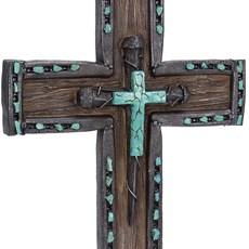 Cruz Decorativa Rústica Montana West 20384