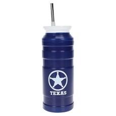 Cuia Térmica para Tereré ou Chimarrão Azul Texas - Rodeo West 17871