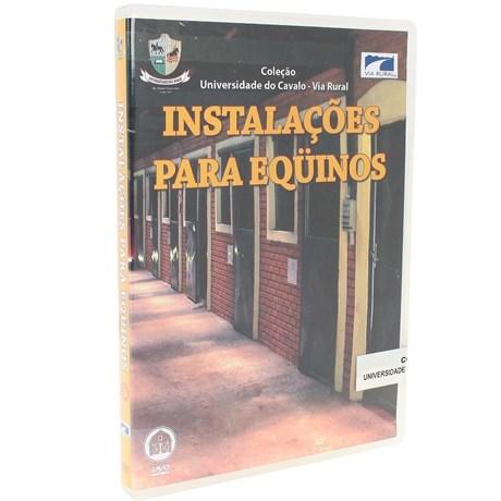 DVD Instalações para Equinos