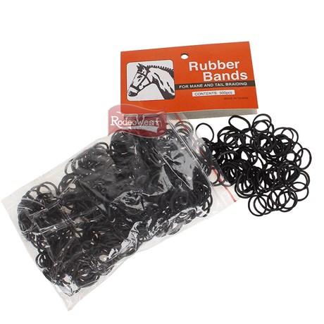 Elástico Importado para Tranças em Crina e Rabo - Rubber Bands 16416