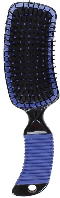 Escova para Cavalo Partrade Azul com Cerdas de Nylon 20922
