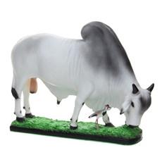 Escultura em Resina Boi Nelore Home Western Decor 25699