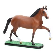 Escultura em Resina Cavalo Mangalarga Marchador Alazão Home Western Decor 25690