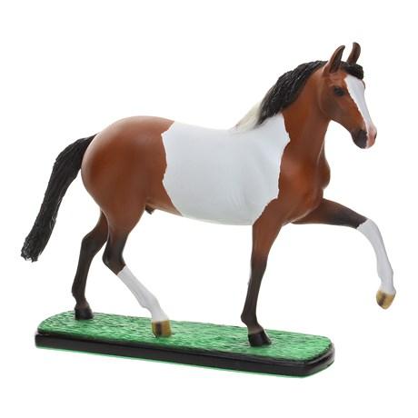 Escultura em Resina Cavalo Mangalarga Marchador Pampa Home Western Decor 25691